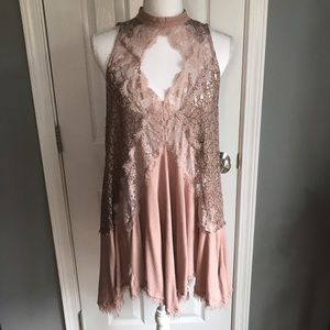 Free People Tell Tale Heart tunic/dress, Large
